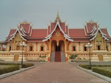 Vientiane - near Pha That Luang 1
