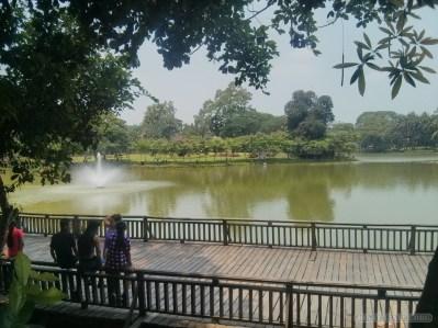 Yangon - Kandawgyi lake park 1