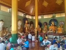 Yangon - Shwedagon pagoda 14