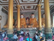 Yangon - Shwedagon pagoda 19