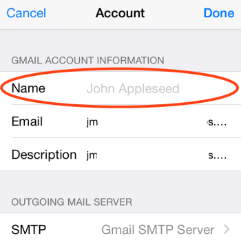 gmail settings for iphone how to add gmail account to mail app on apple iphone or 1453