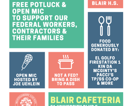 In Shutdown? In DC? Want Lunch and Convo? Read This!