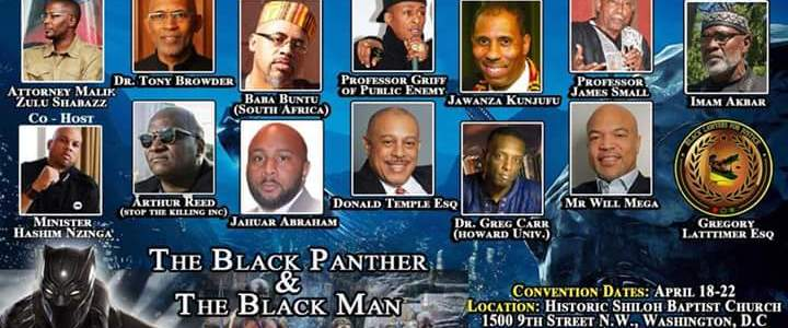 Black Men's Convention – Financial & Economic Summit