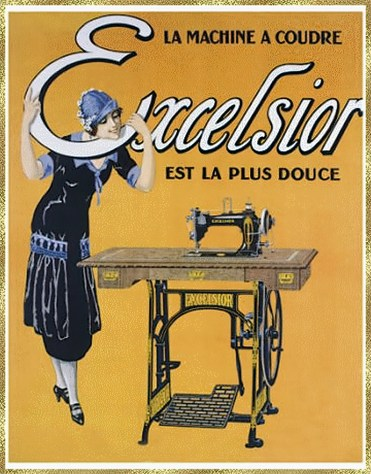 Excelsior sewing machine aiB