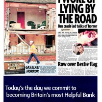 Gas explosion rips through home for the elderly - Daily Mirror - June 2010
