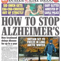 Hugh Ward and Barney brave the cold in Peterlee, County Durham - Daily Express - November 2012