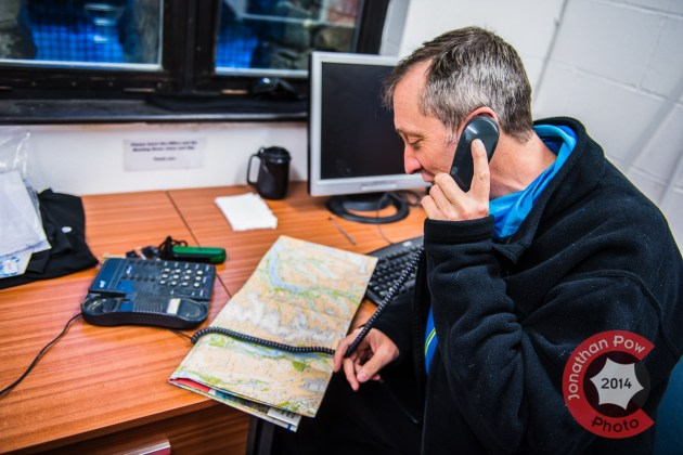 Using a buddy system, every morning Graham phones his colleague with his planned route