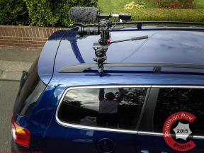 Features photographer and videographer - Kitt Knightrider car