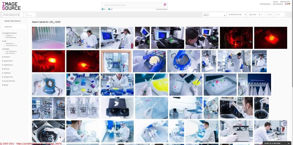 The science of cancer research on the Image Source Library