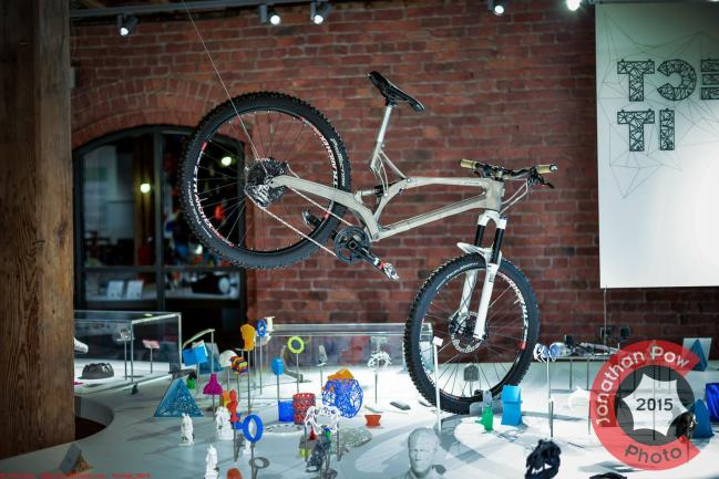 Manchester Photographer - Empire Cycles/Renishaw's 3D printed Bike at the MOSI
