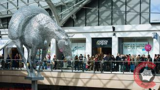 Exterior of Mamas and Papas new flagship store in Leeds Trinity