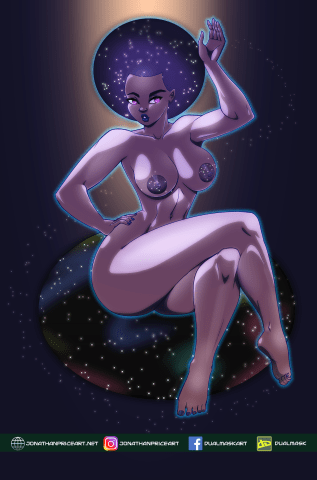 Nafasi, Goddess of Space