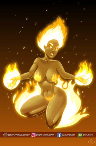 Moto, Goddess of Flame