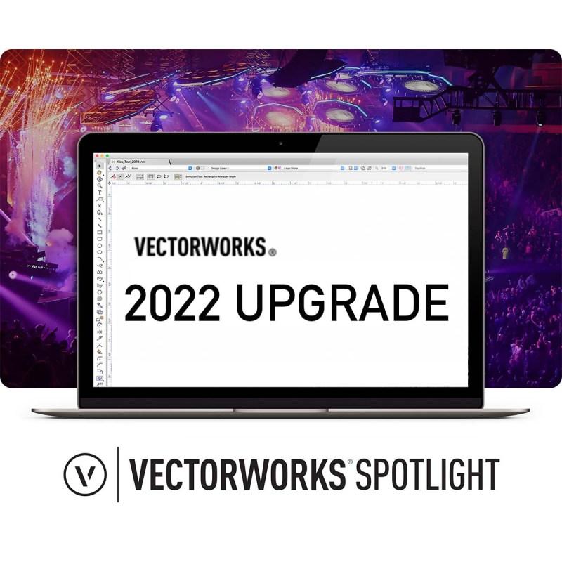 Vectorworks SPOTLIGHT 2022 Upgrade