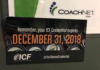 Credential Reminder