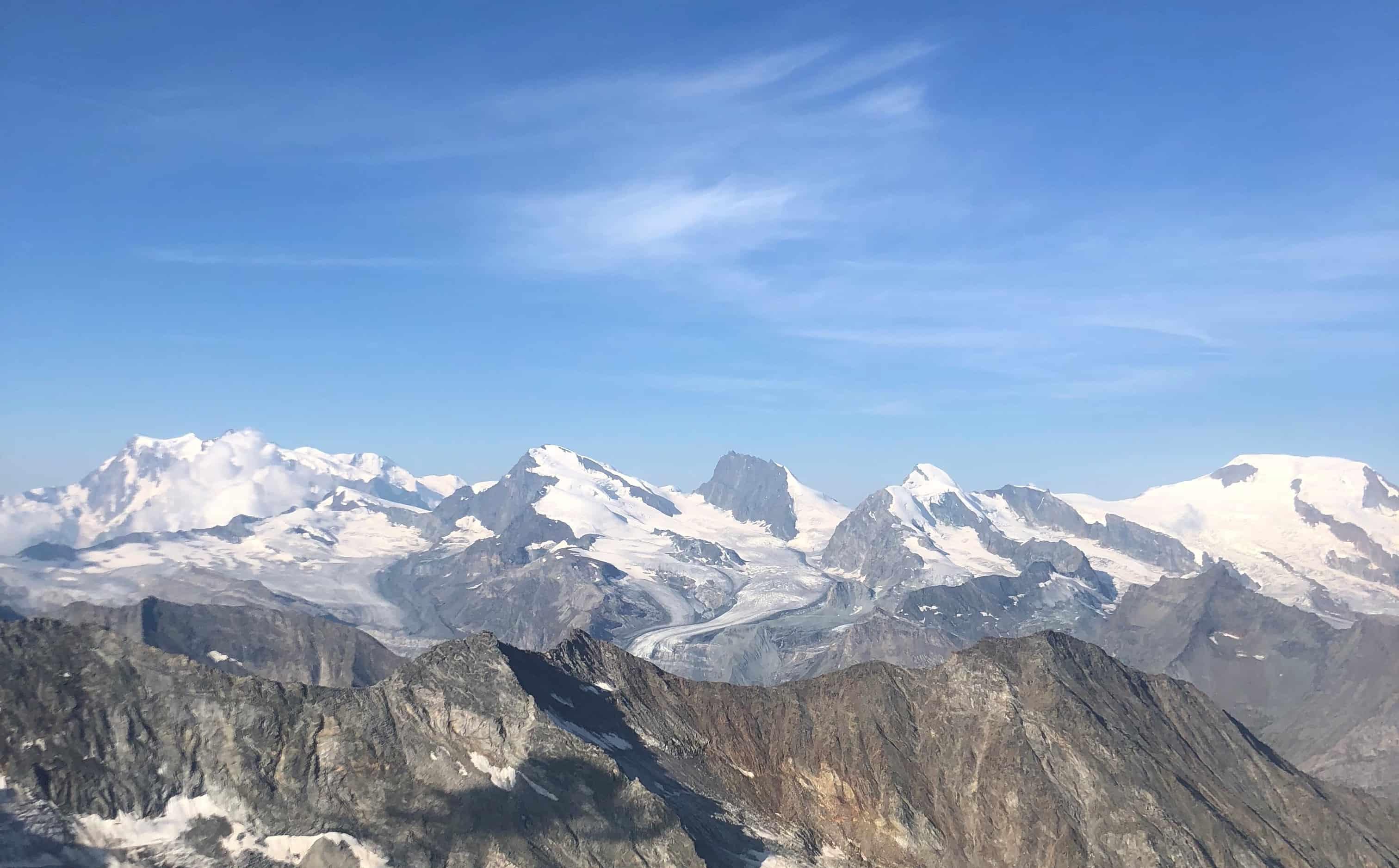 Schweiz Bergsteigen für Anfänger - Bergsteigen in der Schweiz