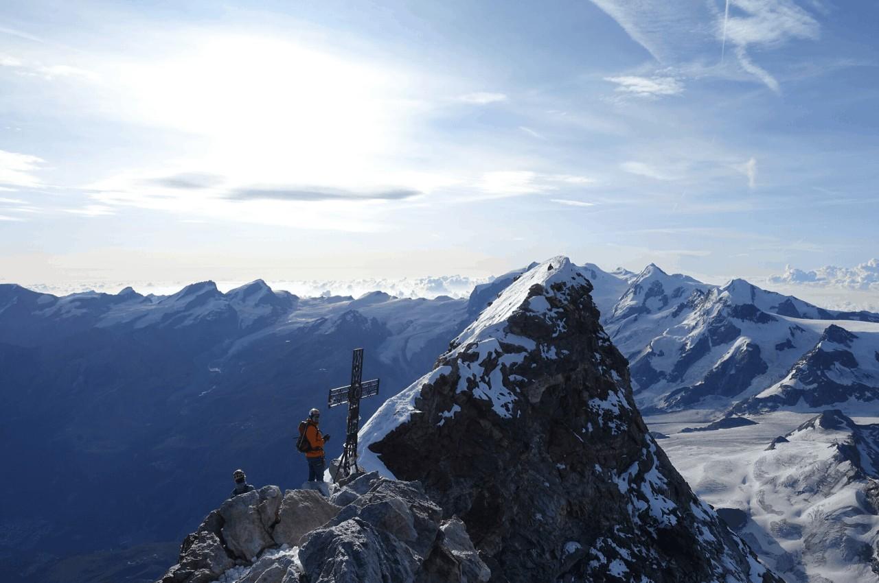 Titelbild Matterhorn - Bergsteigen im Wallis - das Bergsteigerparadies?