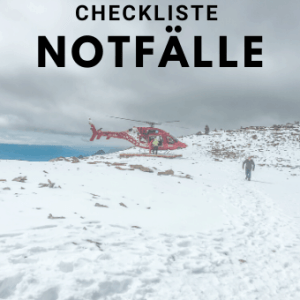 Checkliste Notfälle - Checkliste-Notfälle