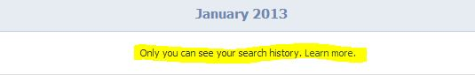 View Facebook search data