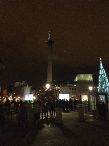 Read more about the article Happy new year 2012 from trafalgar square