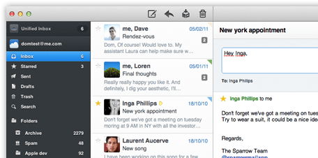 Read more about the article Mac osx email clients and sparrow alternatives