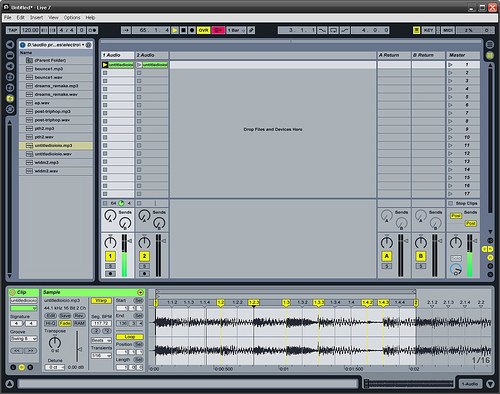 Read more about the article Ableton tutorial 2 recording file operations cool stuff