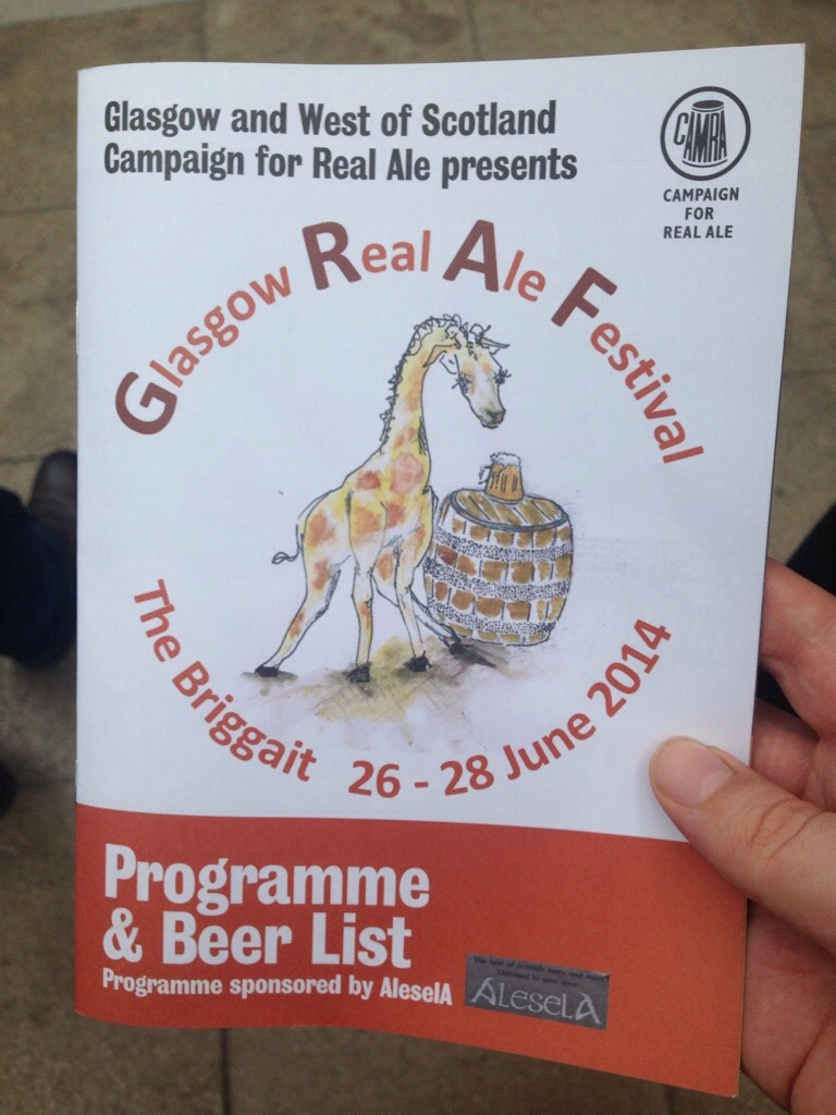 Read more about the article Glasgow Real Ale Festival