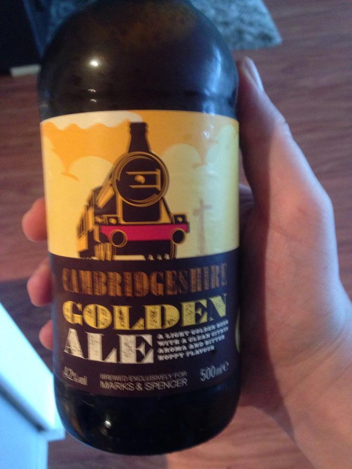 Cambridgeshire Golden Ale