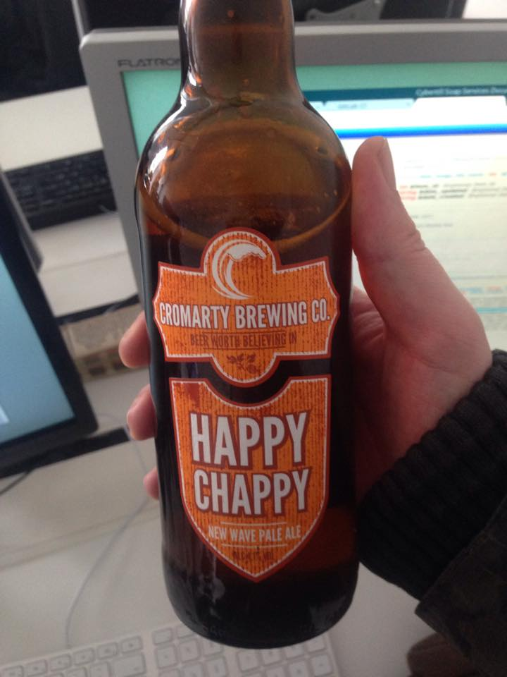 Cromarty Brewing Co Happy Chappy