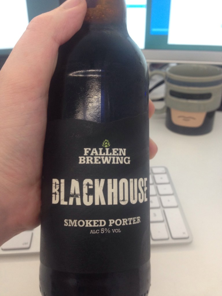 Read more about the article Fallen Brewing BLACKHOUSE SMOKED PORTER