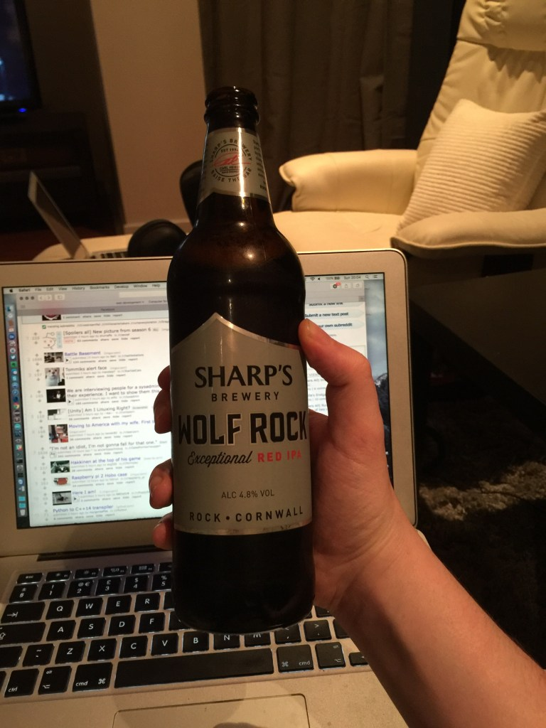 Read more about the article Sharps Brewery – Wolf Rock