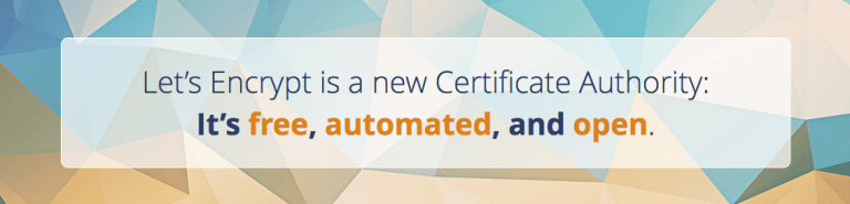 Read more about the article Configuring free SSL certs with Letsencrypt in centos