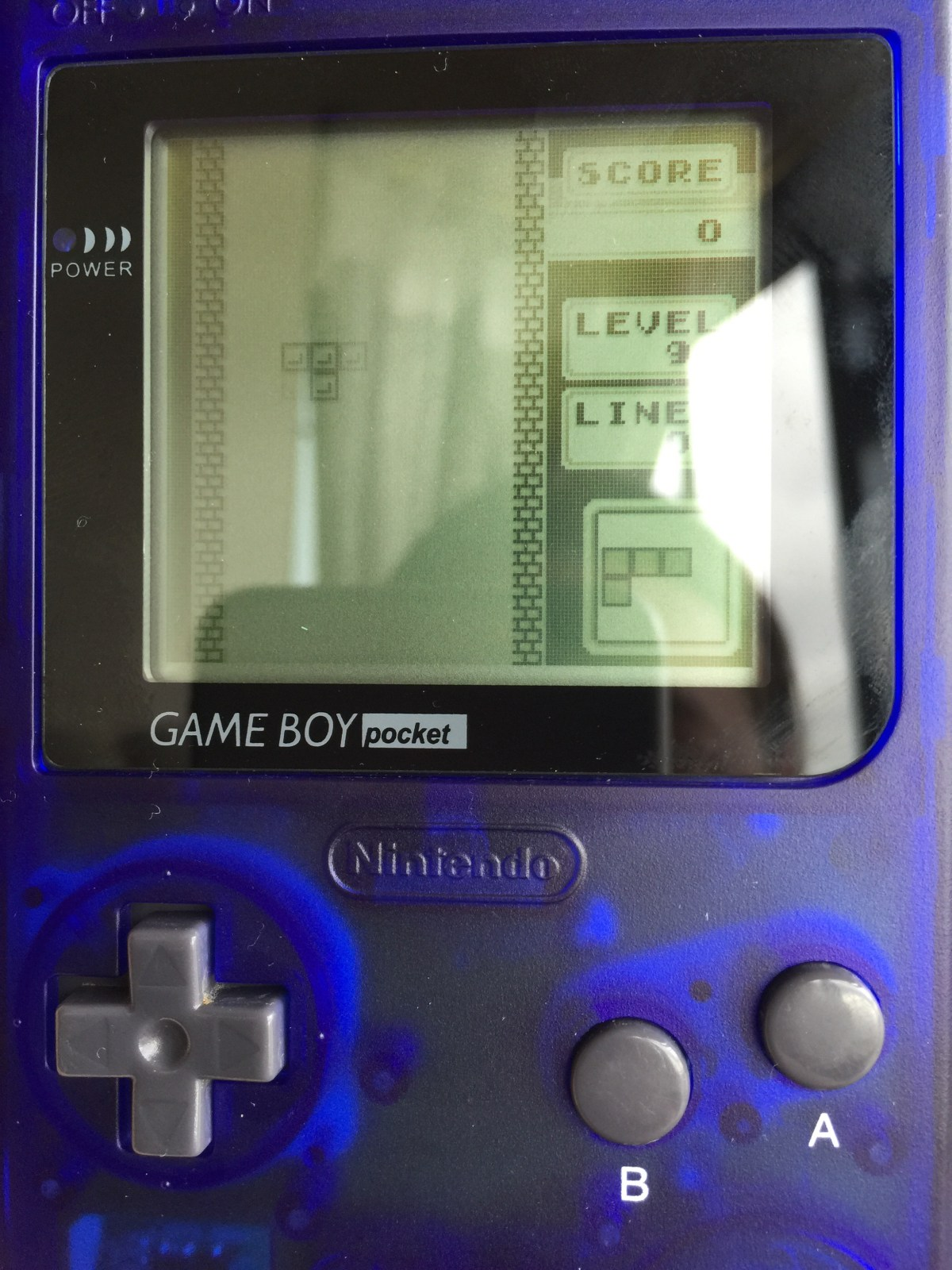 Gameboy Pocket next to my gba