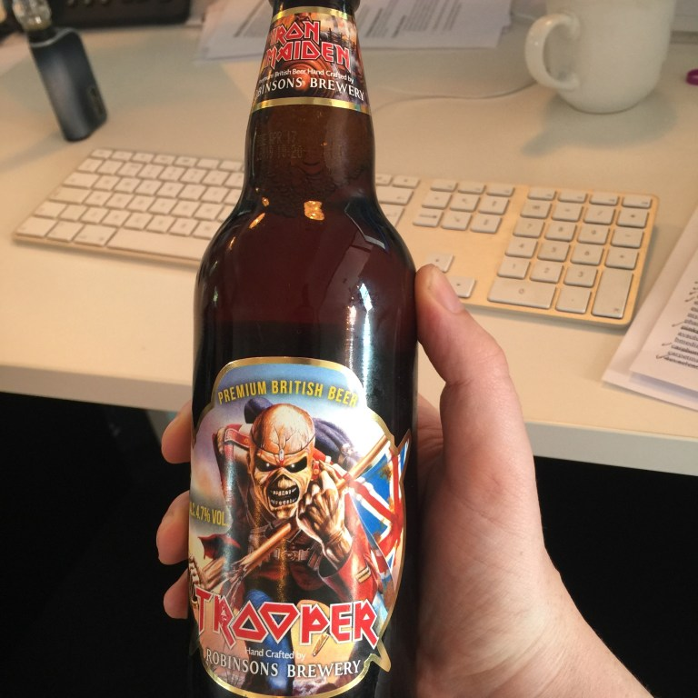 Read more about the article Iron maiden beer