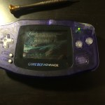 Gameboy Advance custom buttons mod