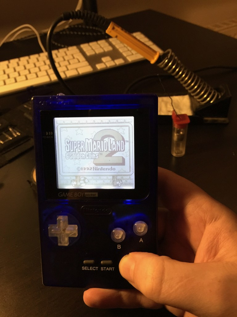 gameboy pocket backlight mod
