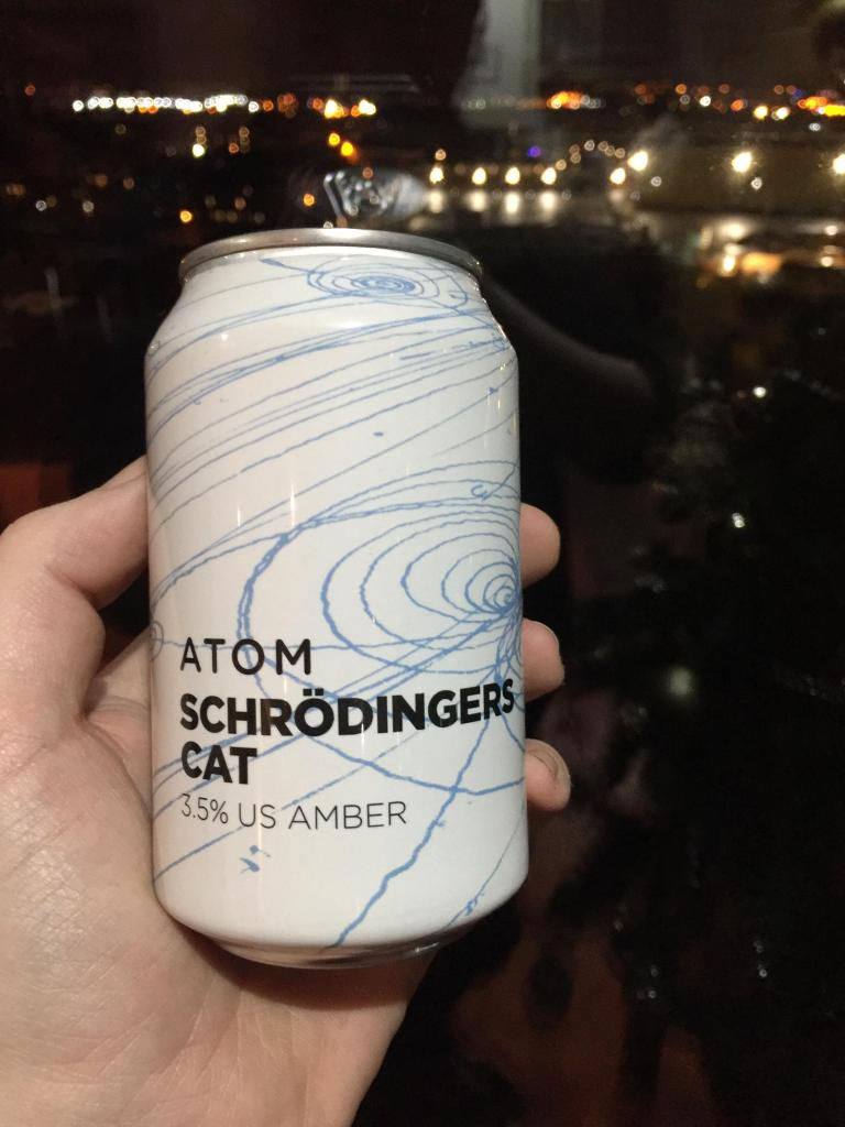 Read more about the article Atom – Schrodingers cat