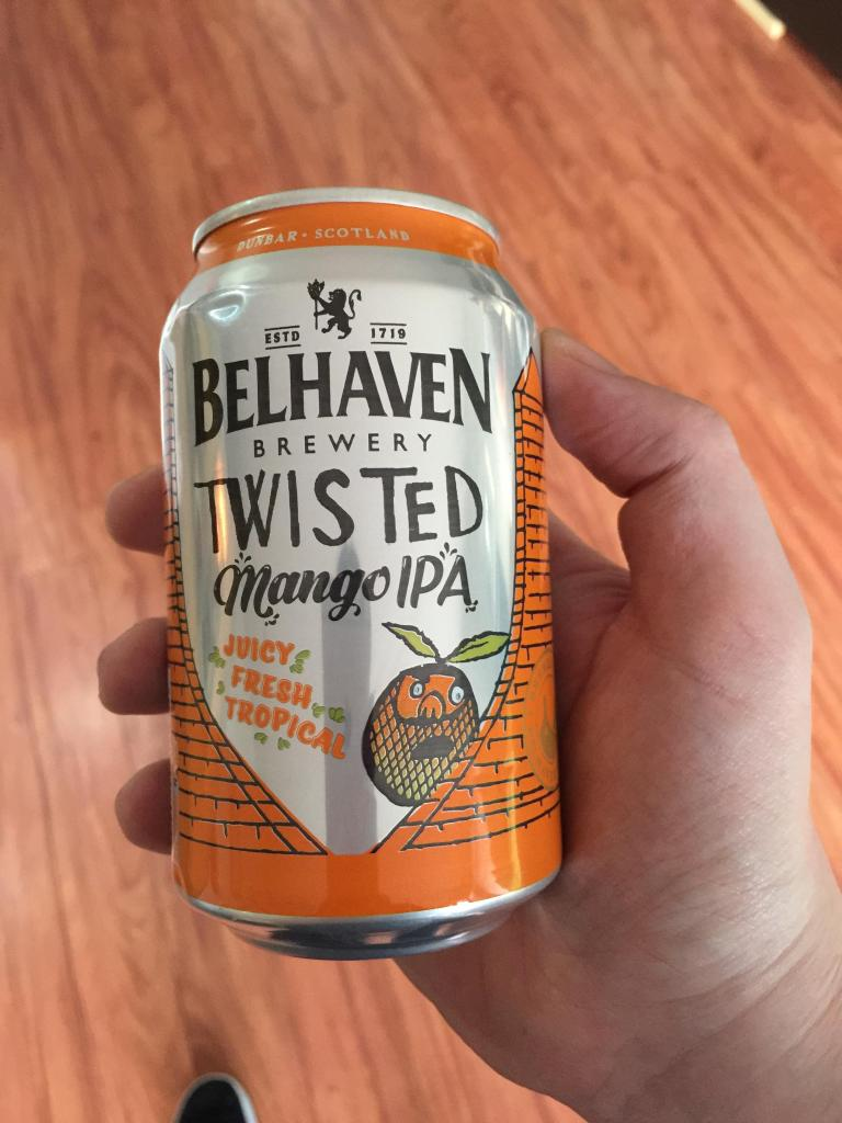 Read more about the article Belhaven Twisted Mango IPA