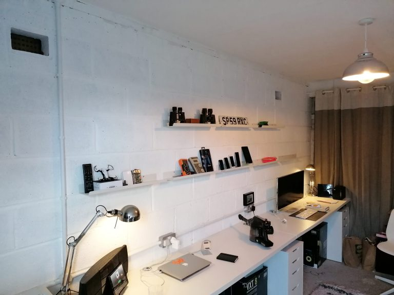 Read more about the article DIY garage makeover – part 6 – music corner