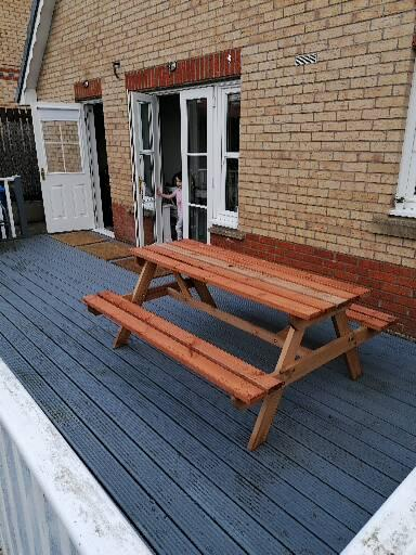 Read more about the article Building a picnic bench