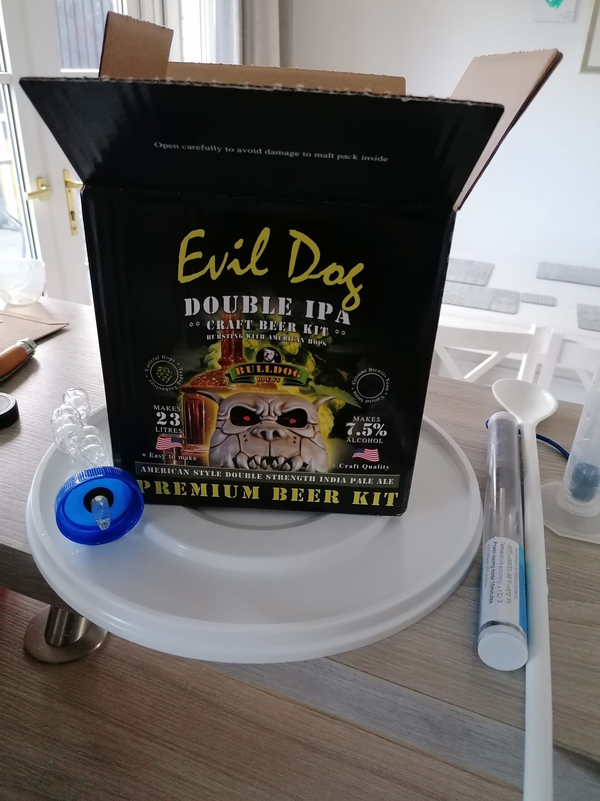 Read more about the article Bulldog Evil Dog homebrew beer