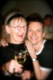 Diana Payne-Myers with Christopher Hampson in 2008