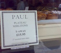 Mirlitons on sale in Paul, Kings Road, 2008