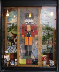 A Nutcracker-themed teashop in Tokyo. Don't ask me why.