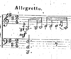 The Coppélia czardas: as printed in an earlier score by Pugni