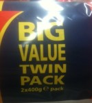 Picture of value pack of digestives, 2 x 400g