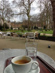 My favourite café in Russell Square. Scene of much doctoral thinking.