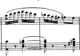 These bars are effectively in 4/4, even though the notated metre is 2/4.