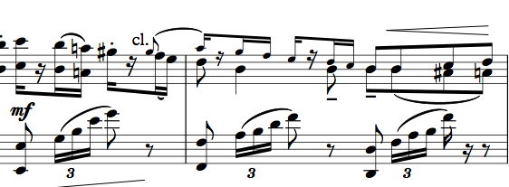 Black Swan female variation, for piano solo (free sheet music)