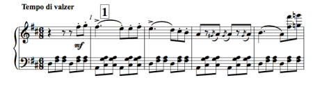 A six eight allegro by Verdi (piano score)